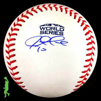 Justin Turner Autographed Signed 2018 World Series Baseball Ball Dodgers Jsa Coa