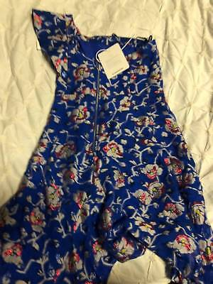 Isabel Marant Laminated Floral Jacquard Navy Dress Size M | New & Authentic