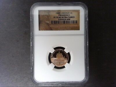 2009 S Bronze Lincoln Cent Presidency Ngc Pf 70 Rd Ultra Cameo
