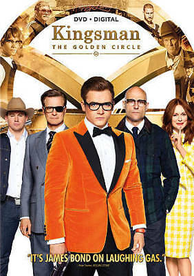 Kingsman: The Golden Circle (DVD & Digital, 2017) New
