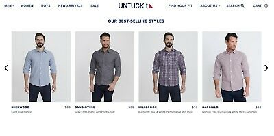 $199.49 UNTUCKit Store Credit / Gift Card - Fast Digital Delivery Via Email