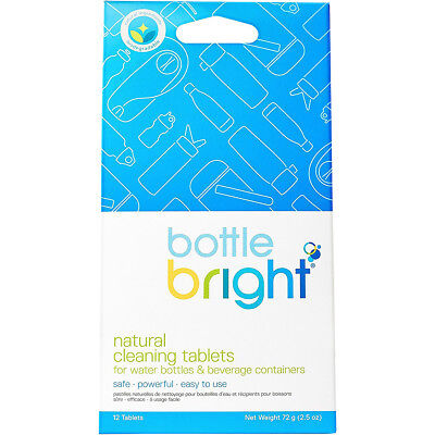 HydraPak Bottle Bright All-Natural Stain and Odor Removing Cleaning Tablets