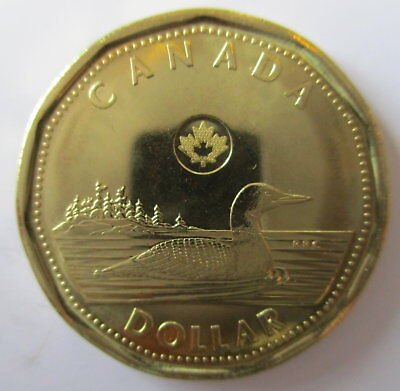 2015 Canada Loonie Proof-Like One Dollar Coin