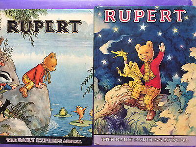2 Vintage Rupert Annuals, 1969 and 1979, good cond.