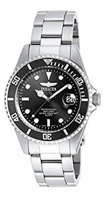 Invicta Men's 8932OB Pro Diver Analog Quartz Silver; Dial color - Black