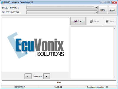 Ecuvonix Immo Decoding 3.2 Codifica Scodifica Immobilizer Ecu Repair