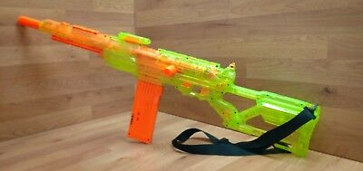 🌟Nerf CS 6 LongShot Sniper Rifle Dart Gun N Strike Elite Bundle green 🌟