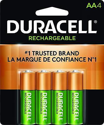 Duracell AA Rechargeable 2500mAh NiMH Batteries - 4 Pack