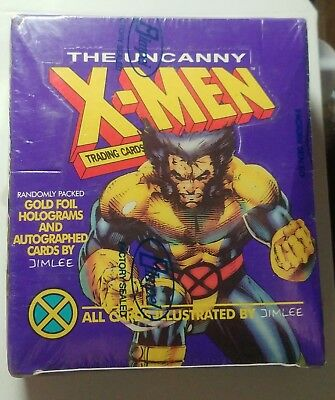 THE UNCANNY X-MEN trading cards 1992 Purple box sealed (