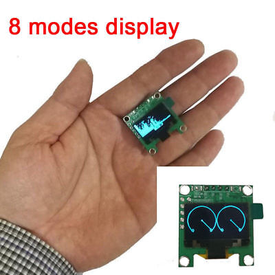 "0.96"" OLED Music Spectrum Display Analyzer Level Indicator VU METER Amplifier L"