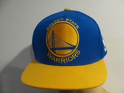 sneakers for cheap a333b e8a8a ... real golden state warriors mitchell ness mens snapback hat new nba  6020e d06d2