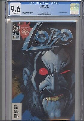 Lobo #1 CGC 9.6  1990 DC Comic with L.E.G.I.O.N. Appearance