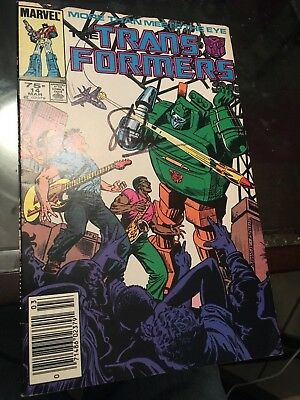 Transformers #14 comic book signed by Stan Lee