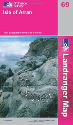 Isle of Arran (Landranger Maps) (OS Land... by Ordnance Survey Sheet map, folded