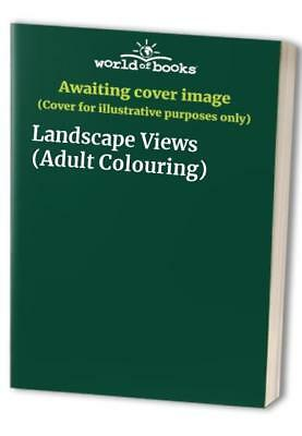 Landscape Views (Adult Colouring) Paperback Book The Cheap Fast Free Post
