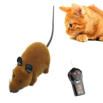 Remote Control RC Rat Mouse Wireless For Cat Dog Pet Funny Toy Novelty Gift B TH