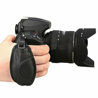 Universal Soft PU Leather Hand Grip Wrist Strap Belt for Canon Nikon DSLR Camera