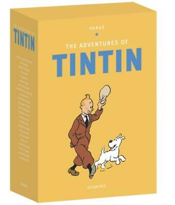The Adventures of Tintin Boxset: 23 Books by Herge Free Shipping!