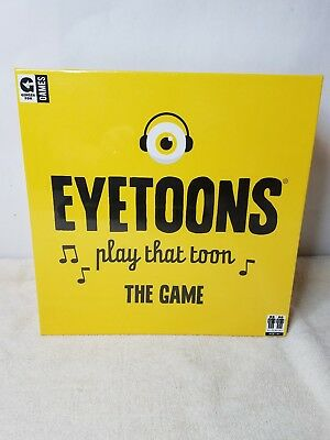 Eyetoons Play That Tonn The Game New In Sealed Box