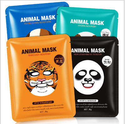 Animal korean Essence Face Mask Facial Sheet Deep Moisture Skin Care  Mask