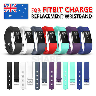 Replacement Sport Silicone Gel Band Strap Bracelet Wristband for Fitbit Charge 2