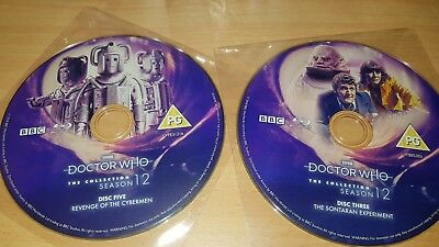 Doctor Who Season 12 Blu Ray Replacement Discs New Sealed Tom Baker Blu Ray Dr W