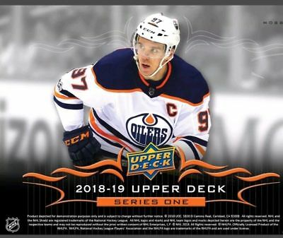2018-19 Upper Deck Hockey Series 1 Pick One Card, Each Additional Card .25 Cents