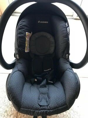 Maxi-Cosi Mico Infant Car Seat (black crystal special edition)NEW - w/out base