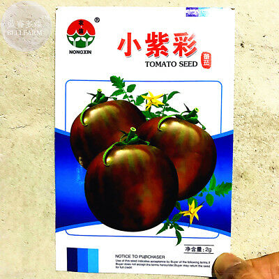 Round Chicago Tomato 'Purple Black' Organic 300 Seeds Non-GMO Vegetable Garden