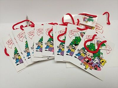 Lot of 12 Betty Boop Christmas Gift Bags