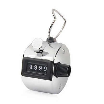 Tally Counter Hand Held Clicker Digit Palm Golf People Counting Club