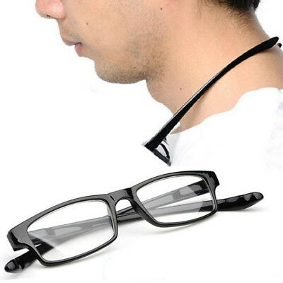 Comfy Light Stretch Presbyopia Reading Glasses Clear Lens Hanging Neck 1.00-4.00