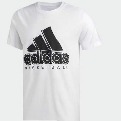 basketball BOS tee Adidas DZ8614 Men SS white