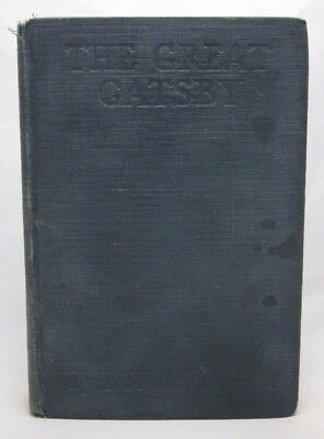 The Great Gatsby - First Edition - F. Scott Fitzgerald Scribner 1925 2nd State