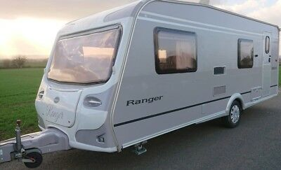 2004 Bailey Ranger 550/6- 6 Berth Caravan