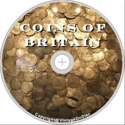 Ancient British Coins 240 Rare Books on Dvd Rom