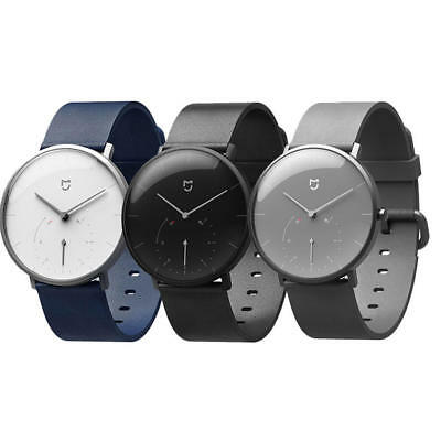 Xiaomi Mijia Quartz Smart Watch Bluetooth Waterproof Leather For Android iO