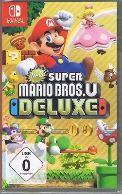Nintendo Switch Spiel New Super Mario Bros. U Deluxe NEU