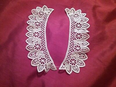 Antique/Vintage  Crochet/tatted Lace  Collar