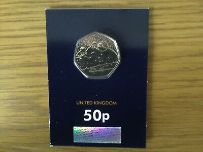 2018 raymond briggs The Snowman fifty pence BU 50p