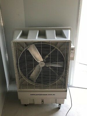 Portable Air Conditioner - Industrial Cooler - Warehouse Cooling Evaporative