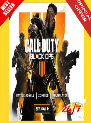Call Of Duty: Black Ops 4 Uncut 🔐 Us Battle.net Cd Key 🔐 Instant Delivery 📥