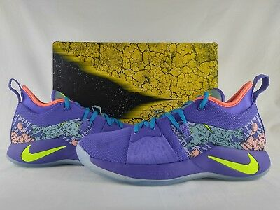 premium selection f6e35 12788 Nike PG 2 II Mamba Mentality Day Cannon Volt Purple Venom Paul George  AO2986-001