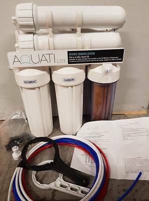 Large 4 Stage RO 300 GPD Reverse Osmosis unit with DI
