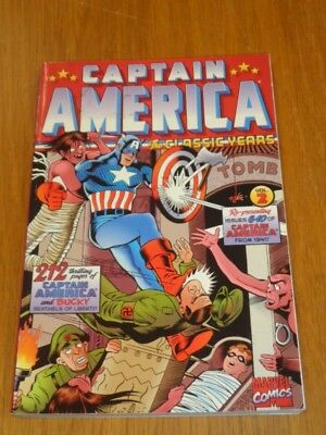 Captain America Classic Years Volume 2 Marvel Comics (Paperback)< 9780785107439