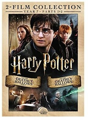 Harry Potter and the Deathly Hallows: Parts 1 / 2 (2 Disc) DVD NEW