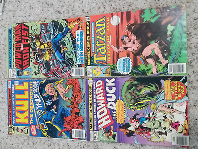 Marvel Comics Bronze Age Lot ( 35 cent covers ) 8 Issue Lot