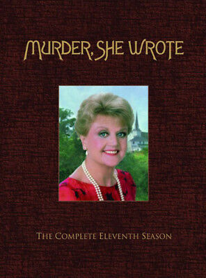 Murder, She Wrote: The Complete Eleventh Season (Season 11) (5 Disc) DVD NEW