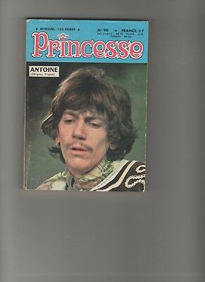 BD PRINCESSE  N°98  Le lézard d'Or  1968 SOCIETE FRANçAISE DE PRESSE ILLUSTREE
