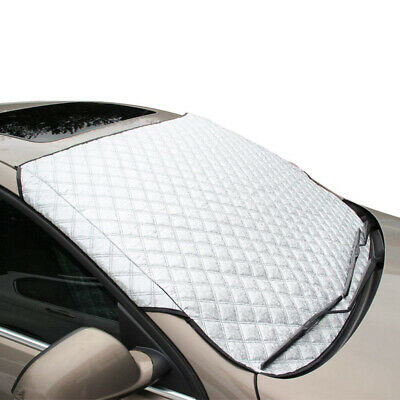 FREESOO Car Windscreen Frost Cover Snow Windshield Ice Sunshade Protector in...